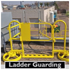 ROOFTOP LADDER GUARDING WITH SRC 360 MOBILE SAFETY RAILING