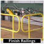 FINISH RAILINGS FOR USE WITH SRC 360 MOBILE SAFETY RAILING