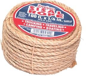 "1/4"" X 50' Sisal Rope"