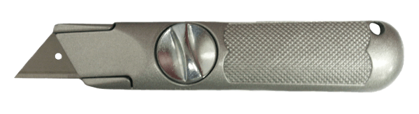 Quick-Opening Fixed Blade Utility Knife