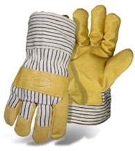 BOSS GRAIN PIGSKIN LEATHER PALM INSULATED WITH SAFETY CUFF