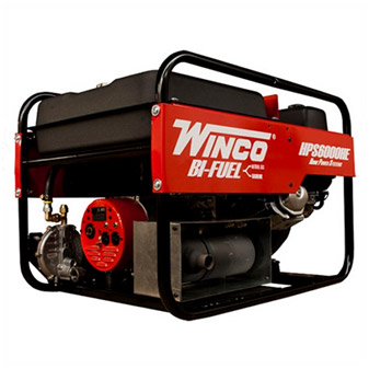 Winco HP6000HE Generator + Wheel Kit -6000W
