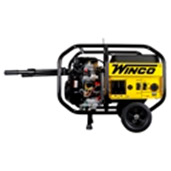 Winco W10000 Watt Portable Generator+wheet kit