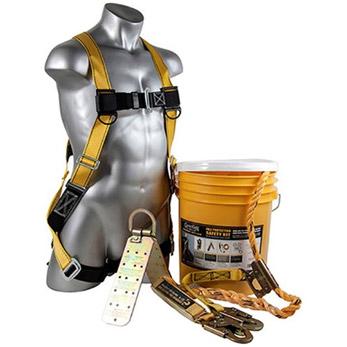 Guardian 00815 Bucket of Sale-Tie Roofing Kit w/Upgraded Harness