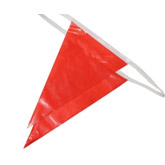 Osha Pennant Flags Red