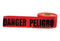 DANGER/PELIGRO TAPE RED BLK