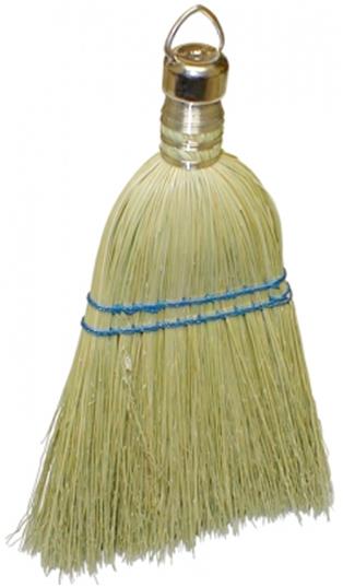 Whisk Broom w/Metal Hanging Cap
