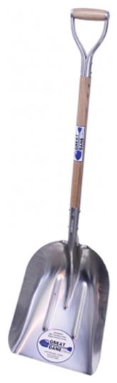 #12 Aluminum Scoop w/ D-Grip Handle