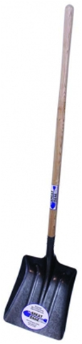 #2 Coal Shovel w/Long Wood Handle