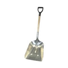 #10 Aluminum Scoop Shovel with Wood D-Handle