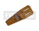 "Sheath 8"" Leather, with Roller Loop For Seam Roller and Roofing Shears"