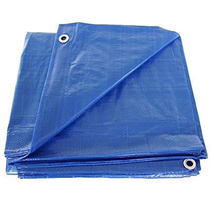 Polly Blue Tarps 50'X100'