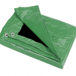 15'X30' Green/Black Tarp