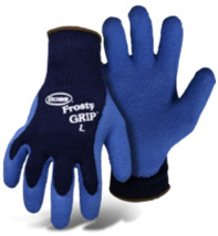 BOSS FROSTY GRIP BLUE INSULATED KNIT LATEX PALM #8439