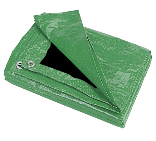 20'X20' Green/Black Tarp