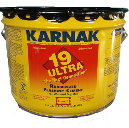 #19 Karnak Ultra Rubberrized Flashing Cement- 3gal