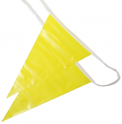 Osha Pennant Flags Yellow