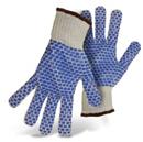 String Knit Blue Reversible w Full PVC Block Color Coded Hem-1JP5550
